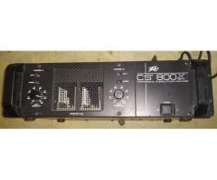 VENTA DE DOS AMPLIFICADORES DE SONIDO MCA. PEAVY CS800X