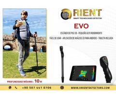 Escáner de suelo 3D compacto EVO a bajo precio