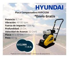 Placa compactadora Hyundai