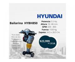 Apisonadora Bailarina Hyundai