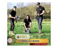 Detector de metales multiusos COBRA GX 8000