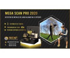 Mega Scan Pro 2020 - detector de metales de largo alcance -40 m de profundidad