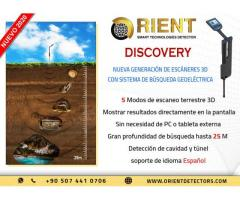 Groundtech Discovery  mejor cazador de tesoros - gran profundidad hasta 25 m