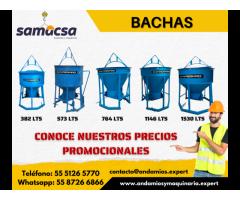 Venta de Bachas para concreto - Samacsa