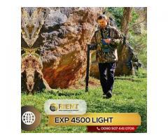 EXP 4500 Light Solution parfaite pour les chasseurs de trésors