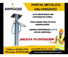 Puntal Metálico Galvanizado - Samacsa