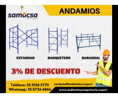 Venta de andamios de trabajo - Samacsa