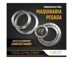 TORNAMESAS PARA GRÚAS INDUSTRIALES Y MAQUINARIA PESADA