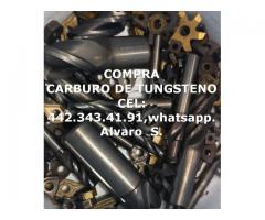 COMPRA CARBURO DE TUNGSTENO POR KILO