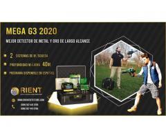 Potente detector de metales de largo alcance MEGA G3 - Hecho en Alemania