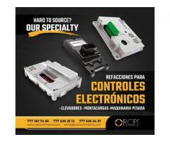 ECM Y CONTROLES ELECTRÓNICOS PARA MAQUINARIA