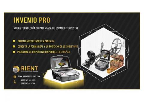 Escáner de suelo Invenio Pro con nueva tecnología