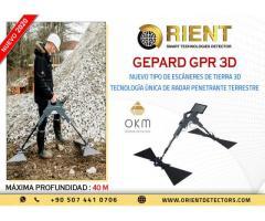 Escáner de suelo profundo GEPARD GPR 3D