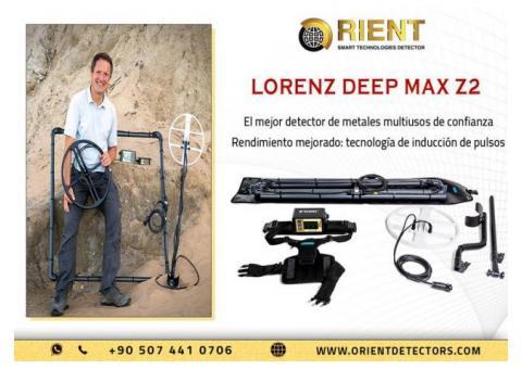 Lorenz Deep Max Z2 - Mejor detector de metales / Nuevo 2021