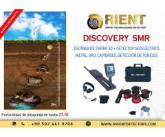 Discovery SMR : Escáner de tierra y detector geoeléctrico