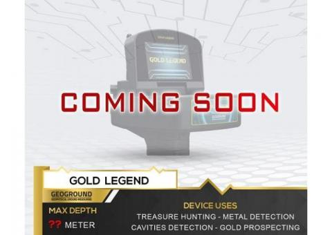 Detector de metales Gold Legend   Próximamente en 2021