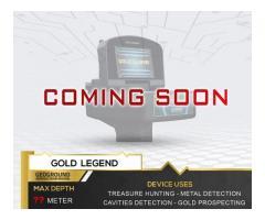 Detector de metales Gold Legend | Próximamente en 2021