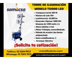 Torre de iluminación TI200LED