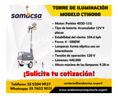 Torre de iluminación CTI6000