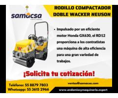 Rodillo compactador doble Wacker