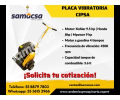 Placa compactadora vibratoria Cipsa