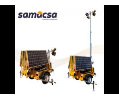 Torre solar para iluminación