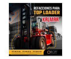 Refaccciones para top loaders y equipo de puerto Kalmar