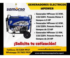Generador mpower modelo 11000