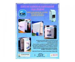 Se renta cabina de sanitizacion