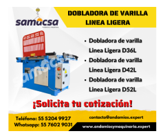 Dobladora de varilla Profesional DAR55 SAMACSA