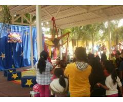 Circus Party Doodles Shows Fiesta Circo
