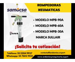 Rompedora Neumática Sullair MPB-60A SAMACSA