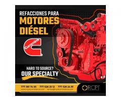Refacciones para motores diésel Cummins