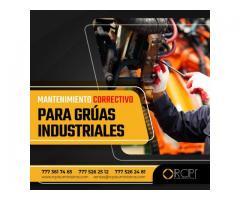 Mantenimiento correctivo para grúas industriales