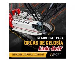 Refacciones para grúas industriales Link-Belt