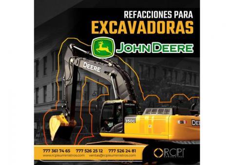REFACCIONES PARA RETROEXCAVADORAS JOHN DEERE