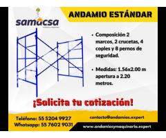 Modulo de andamio estándar Samacsa