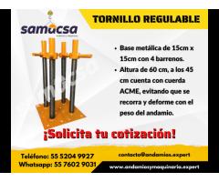 Tornillo (regulable) samacsa
