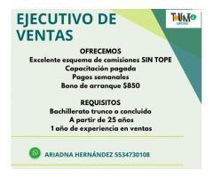 Call Center y Campo Ventas y Atención a Clientes