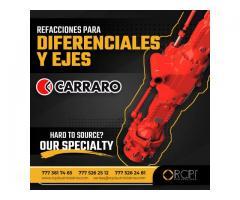 REFACCIONES PARA EJES Y DIFERENCIALES CARRARO