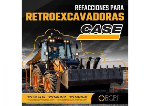 REFACCIONES PARA RETROEXCAVADORAS CASE