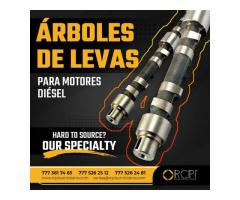 ÁRBOLES DE LEVAS PARA MOTORES DIÉSEL