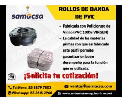 Bandas de PVC diferentes medidas