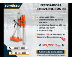 Perforadora Husqvarna modelo DMS180