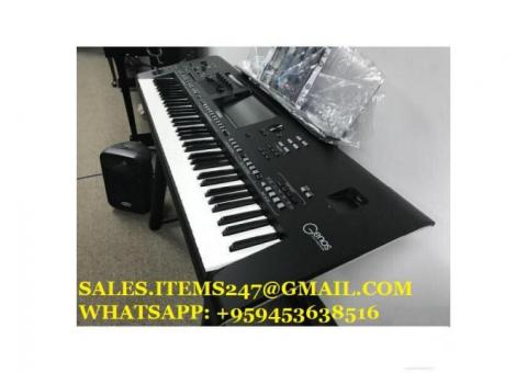 Vendo Yamaha Genos XXL Set-Tyros 5, Ketron SD90, Korg Pa4X, Roland Fantom-X8
