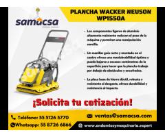 Placa Vibratoria Wacker Neuson - Samacsa