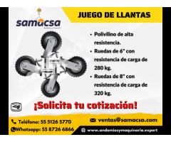 Rodajas para andamio de trabajo - Samacsa
