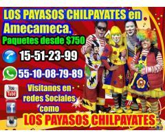 Payasos para fiestas infantiles en Amecameca