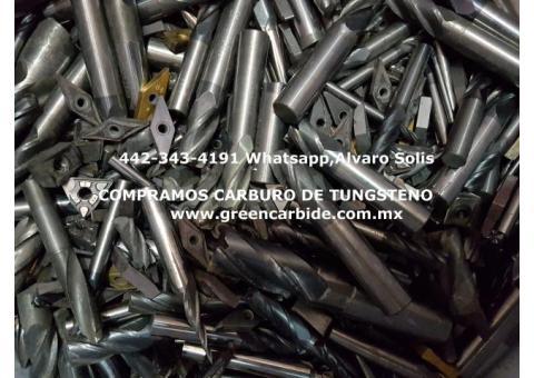 BROCAS DE CARBURO USADAS COMPRA