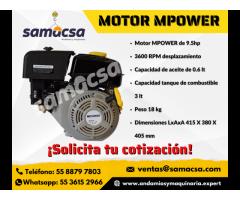 Motor a gasolina mpower
